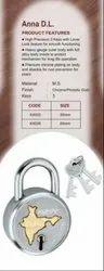 Kumar Double Locking Aluminium Padlock
