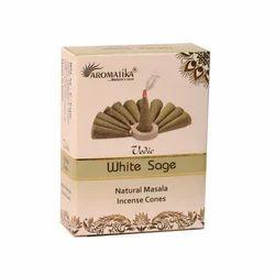 White Sage Masala Incense Cone