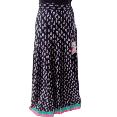 84104cae7 M & W Ladies Designer Cotton Long Skirt, Rs 700 /piece, Make And ...