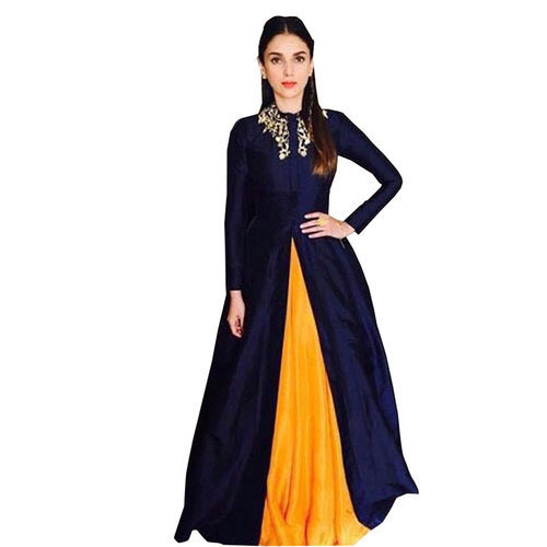 Cotton Full Sleeves Bollywood Indo Westerns Dresses