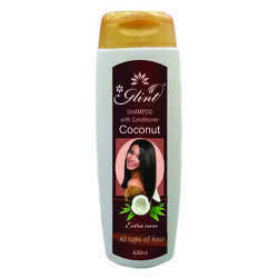 Women And Unisex Glint Shampoo With Coconut Conditioner , Packaging Size: 200 And 400ml