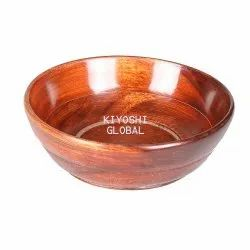 Wood Wooden Bowl