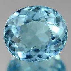 Oval Aquamarine Stone