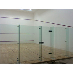 Squash Court Back Wall Glass