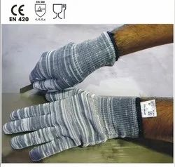 GTFHT/13/G Grey Poly-amide Seamless Knitted Gloves