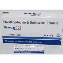 Povidone Lodine and Ornidazole Ointment