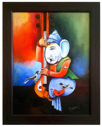 Lord Ganesh Painting