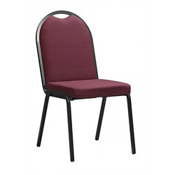 High Round Back Designer Stackable Chair