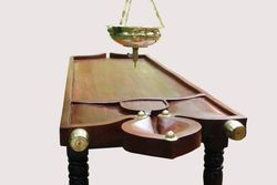 Wooden Dharapathi Droni With Sirodhara Vessel