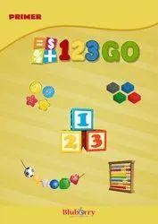 Bluberry 123 Go Mathematics Nursery Book For Primary School