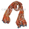 Poly Crepe Printed Scarves