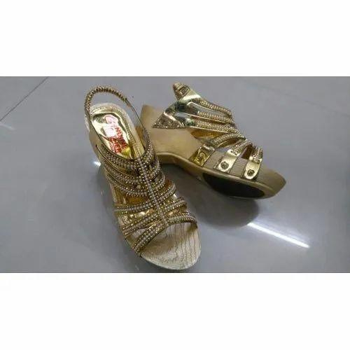 Party Wear Heel Designer Wedding Sandals Size 7 12 Rs 470 Pair Id 20742542855