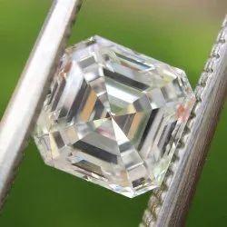 DEF Color Asscher Shape Loose Moissanite Diamond