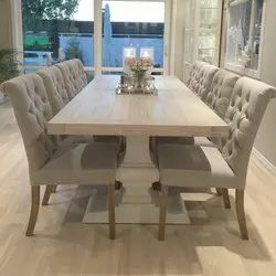 Wooden Fancy Dining Table Set Rs 30000, Nice Dining Room Chairs