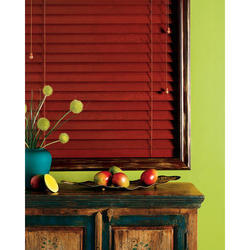 Chalet Wood Blinds Closed