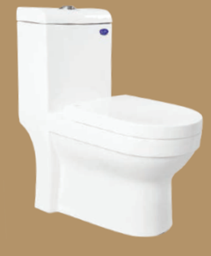 858-ONE PIECE COMMODE