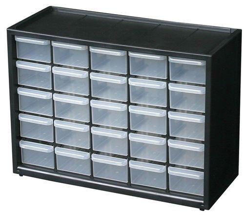 Stainless Steel Mild Black Component Storage Cabinet