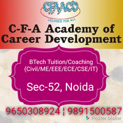 B.Tech Tuition For Network Analysis And Synthesis In Noida CFA Engineering Academy