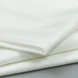Plain Raw White Cotton Fabric
