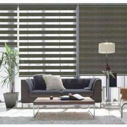 Living Room Zebra Roller Blind