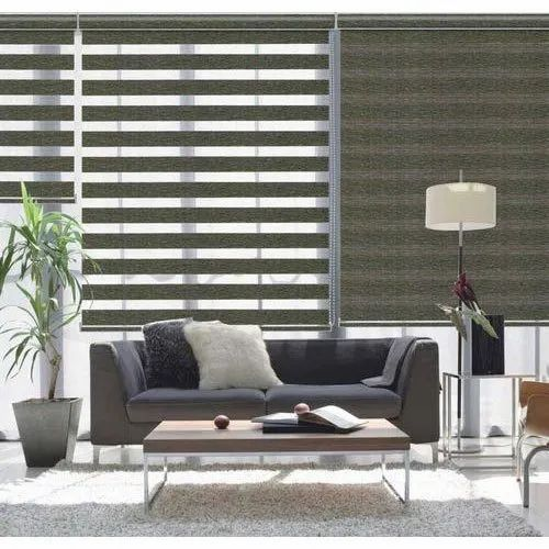 Pvc Living Room Zebra Roller Blind Rs 100 Square Feet Aabha Louvers Id 4099899255