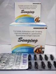 Antioxidant Ginseng Vitamin Minerals Lactobacillus Capsule