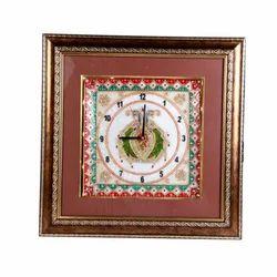 Marble & Wooden Antque Look Clock