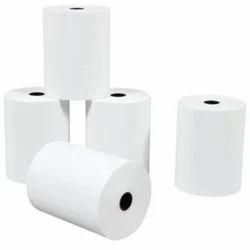 White Plain 80x50 mm Thermal Paper Rolls