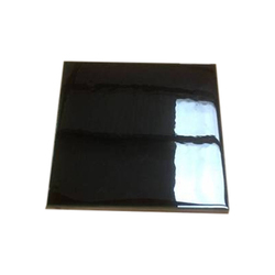 Black Ceramic Wall Tile, Size: 8x8 Inch