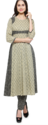 Frock Style Printed Cotton Kurti with Pant