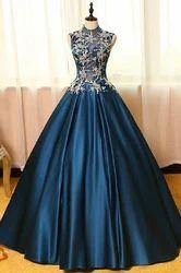 Blue Designer Gowns