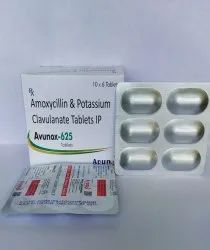 AMOXYCILLIN 500MG & CLAVULANATE 125MG TAB