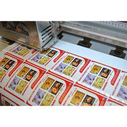 Adhesive Paper Printed Sticker
