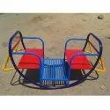 Two Seater Boat Shape Sea-Saw