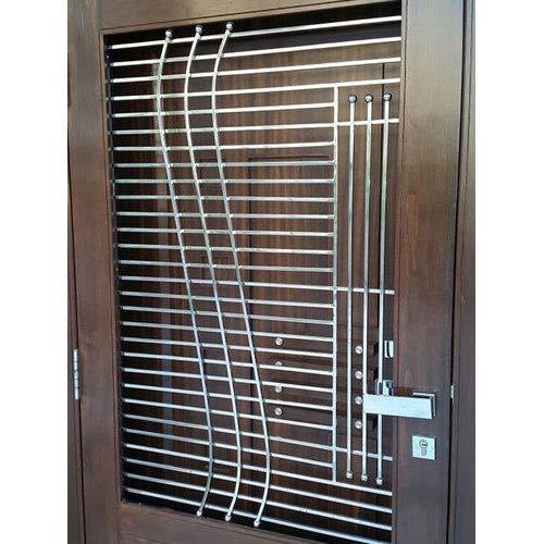Grill door modern safety door design for home modern Grill main door design