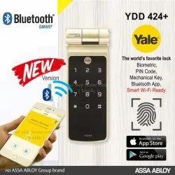 YDR414 (Rim Lock) Fingerprint, Pin Code, Mechanical Key & Remote Control (Optional)