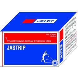 Trypsin Chymotrypsin Diclofenac Paracetamol Tablets