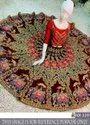 Latest Fashion Women's Navratri Lehenga Choli-Hand Embroidery Choli