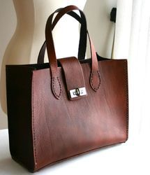 Brown Leather Trendy Ladies Purse 49a2f7e494bd5