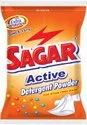 Rose White Sagar Active Washing Powder, For Laundary, 2kg, 1kg