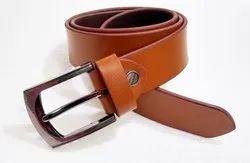 Tan Formal Wear Mens Leather Belt