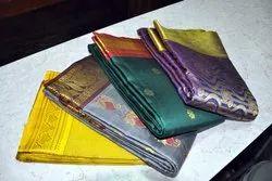 Yashoda Plain, Printed Saree Materials
