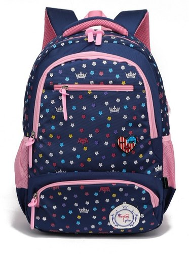 9667e28eb999 Reelay Mee Royal Blue Kids Printed Backpack
