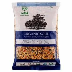 Organic Mix Dal, Packaging Size: 500 g, Packaging Type: Packets