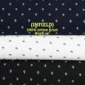 Infield 100% Cotton Print Shirting Fabric