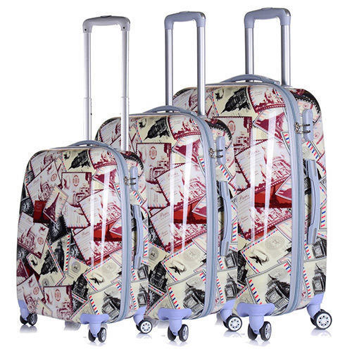 76e1d6ab0421 Tramp & Badger 3 Piece Trolley Bag Set