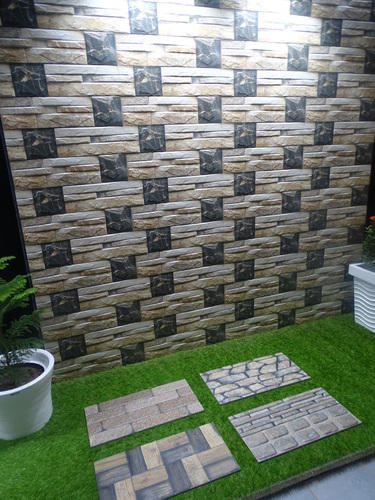 Front Elevation Tiles Price : House front elevation tiles at rs square feet
