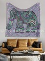 Ethnic Elephant Print Wall Hanging