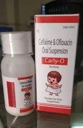Cefixime Ofloxacin Oral Suspension