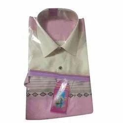Cotton Collar Neck Mens Casual Shirt, Size: 38